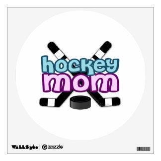 Hockey Mom Wall Decal