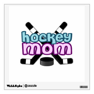 Hockey Mom Wall Sticker