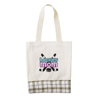 Hockey Mom Zazzle HEART Tote Bag