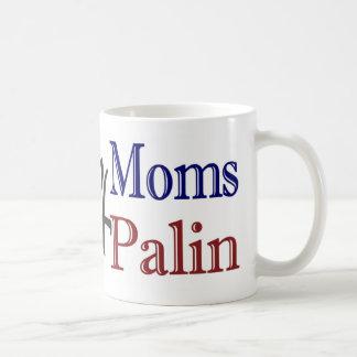 Hockey Moms 4 McCain Palin Classic White Coffee Mug