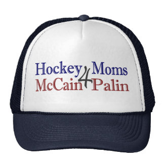 Hockey Moms 4 McCain Palin Trucker Hat