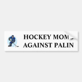 Hockey Moms Against Palin Car Bumper Sticker