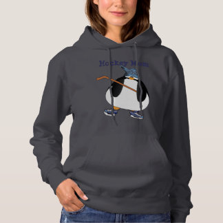 Hockey Moms and Penguins Hoodie
