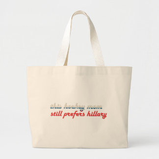hockey moms for hillary tote bag