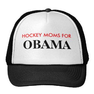 HOCKEY MOMS FOR, OBAMA TRUCKER HAT