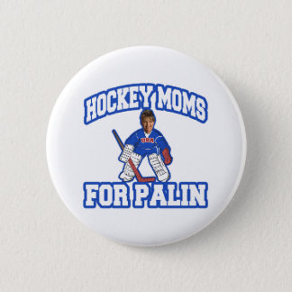Hockey Moms for Palin Button