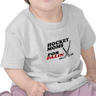 Hockey moms for palin t shirts