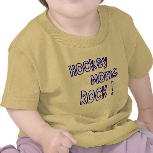 Hockey Moms Rock ! (blue) Tshirt