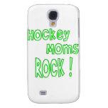 Hockey Moms Rock ! (green) Samsung Galaxy S4 Cases
