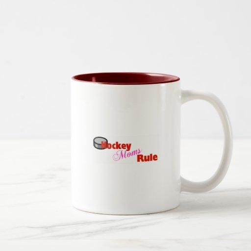 Hockey Moms Rule Coffee Mug