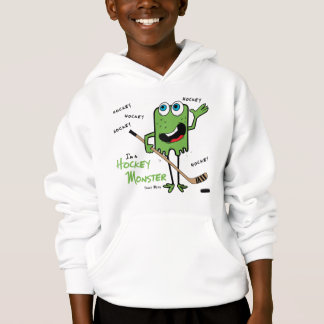 Hockey Monster Kids Sweatshirts