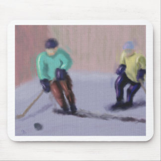 Hockey Moves Mouse Pad