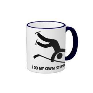 Hockey My Own Stunts Coffee Mugs
