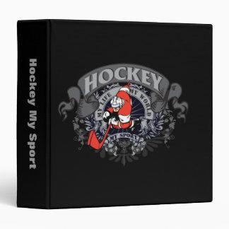 Hockey My Sport Vinyl Binder