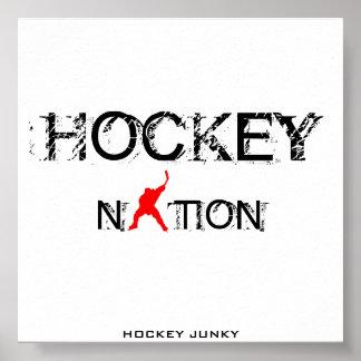 HOCKEY NATION POSTER