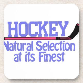 Hockey Natural Selection Drink Coaster