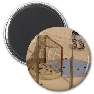 Hockey Net Refrigerator Magnet