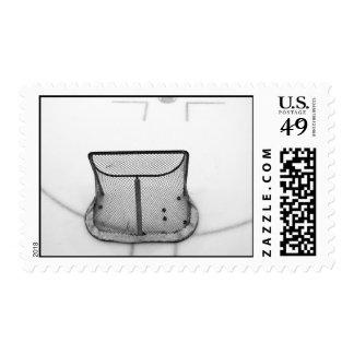 Hockey net stamp