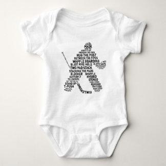Hockey Netminder Baby Bodysuit