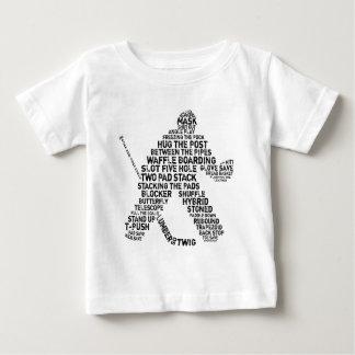 Hockey Netminder Baby T-Shirt