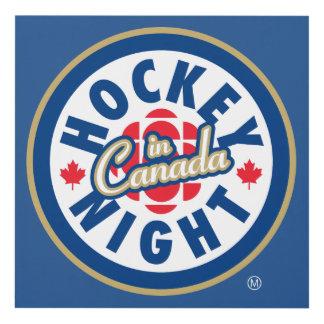 Hockey Night in Canada logo Panel Wall Art