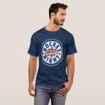 """Hockey Night in Canada Logo T-Shirt<br><div class=""""desc"""">The present logo used since 1998. Hockey Night in Canada is the branding used for Canadian television presentations of the National Hockey League. While the name has been used for all NHL broadcasts on CBC Television (regardless of the time of day), Hockey Night in Canada is primarily associated with its...</div>"""