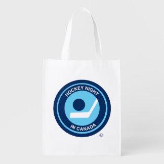 Hockey Night in Canada retro logo Grocery Bag