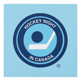 Hockey Night in Canada retro logo Panel Wall Art