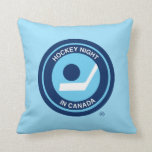Hockey Night in Canada retro logo Pillows