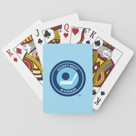 Hockey Night in Canada Retro Logo Playing Cards