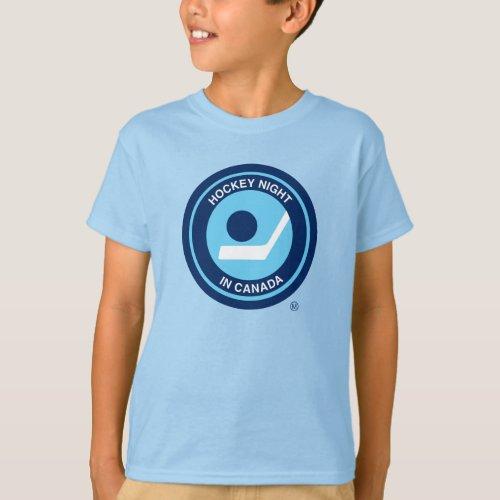 Hockey Night Retro Youth T_Shirt