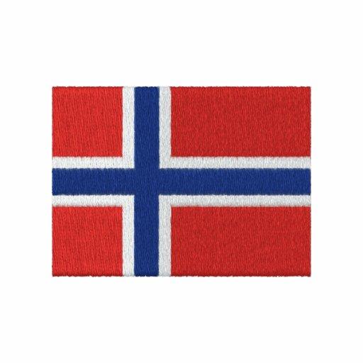Hockey - Norway Embroidered Hoodie