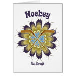 Hockey Not Drugs Greeting Card