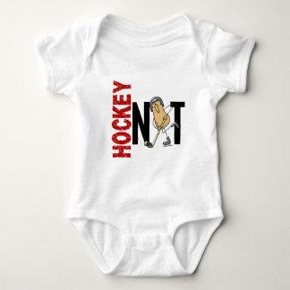 Hockey Nut 1 Baby Bodysuit