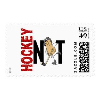 Hockey Nut 1 Postage Stamps