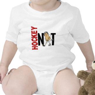 Hockey Nut 1 Baby Bodysuits