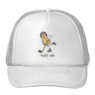 Hockey Nut T-shirts and Gifts Mesh Hats