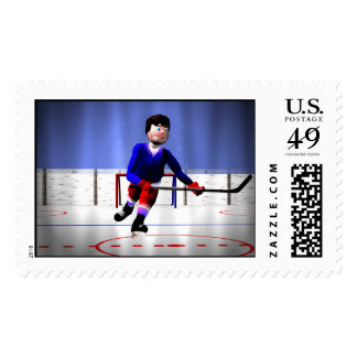 Hockey Overtime Stamps