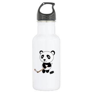 Hockey panda 18oz water bottle