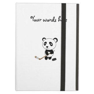 Hockey panda iPad air covers