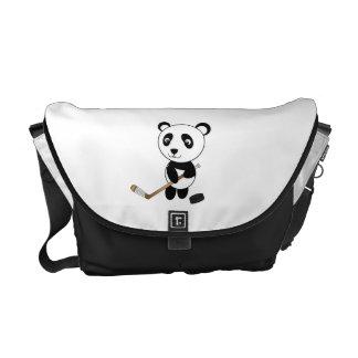 Hockey panda courier bags
