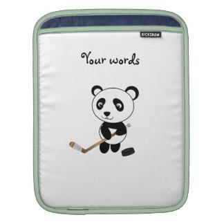 Hockey panda sleeves for iPads