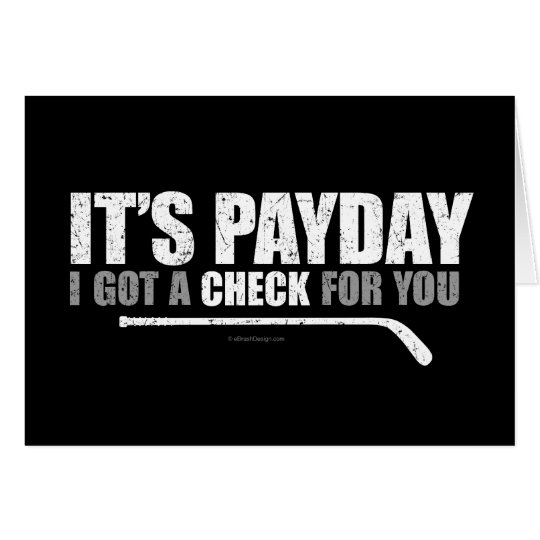 Hockey Payday #1 Card
