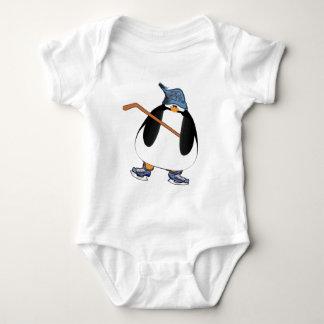 Hockey Penguin Baby Bodysuit