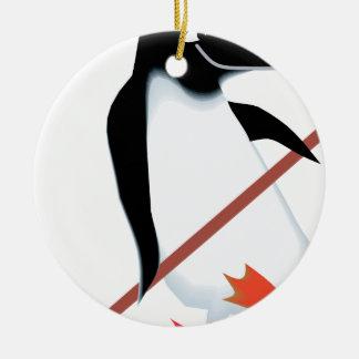 Hockey penguin christmas tree ornaments