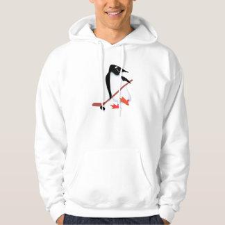 Hockey penguin hoodie