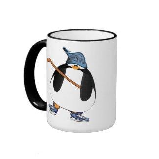 Hockey Penguin mug