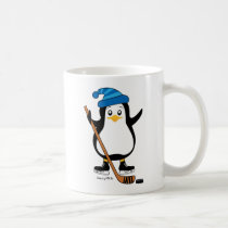 Hockey Penguin Mug