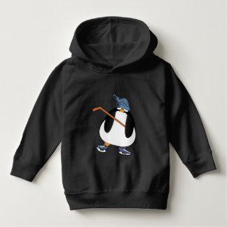 Hockey Penguin Toddler Hoodie