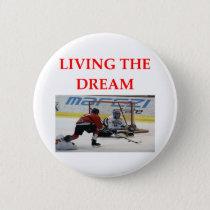 hockey pinback button